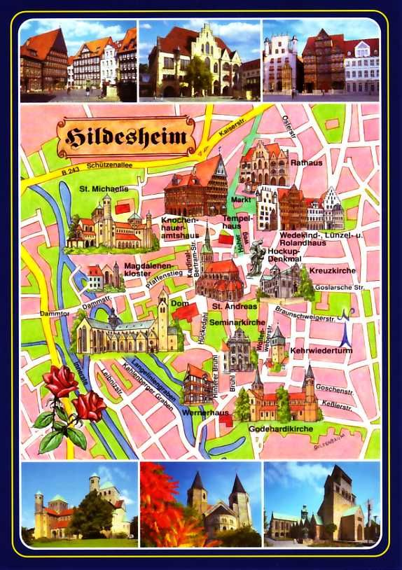 tourist map of hannover germany see more at httpwwweverythingaboutgermanycom