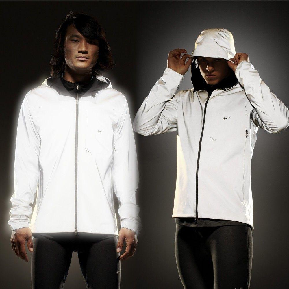 Nike jacket flash - Nike Vapor Flash Running Jacket Completely Reflective