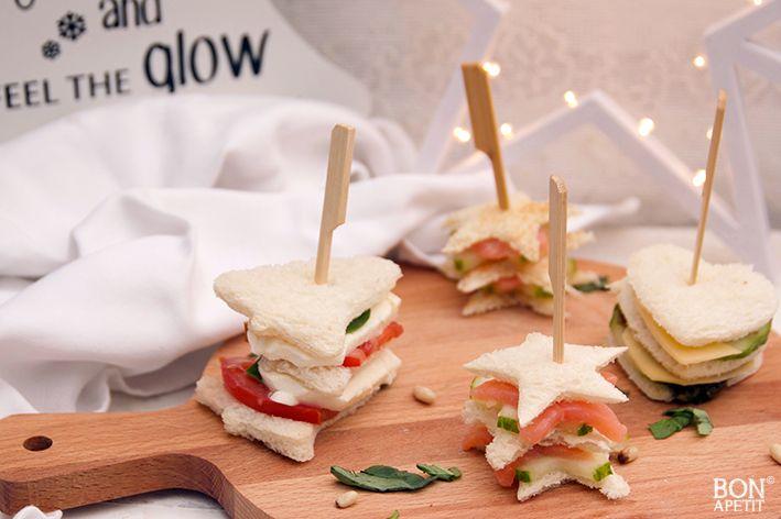 Ongebruikt Leuke en lekkere sandwiches voor de feestdagen   Sandwiches AG-23