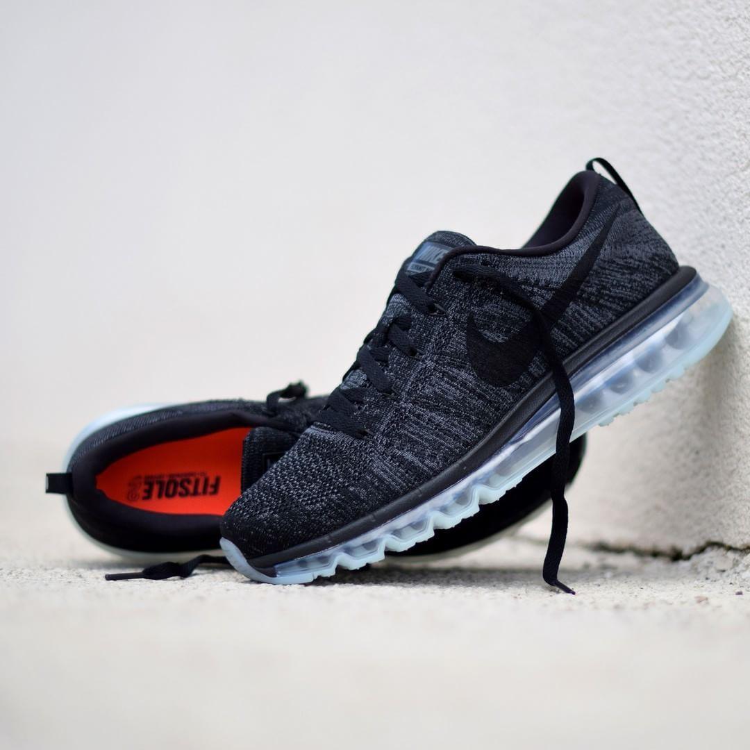 info for e7ae0 1b115 Nike Flyknit Air Max Oreo | Sneakers | Nike, Nike flyknit ...