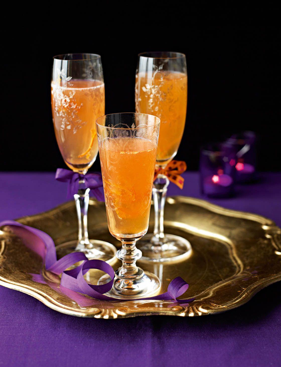 Clementine Prosecco cocktail Recipe Prosecco cocktails