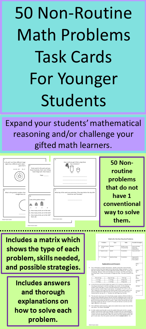 open math problems Explore learning sprouts's board open ended mathematics on pinterest | see more ideas about teaching ideas  you can use open ended math problems with all students.
