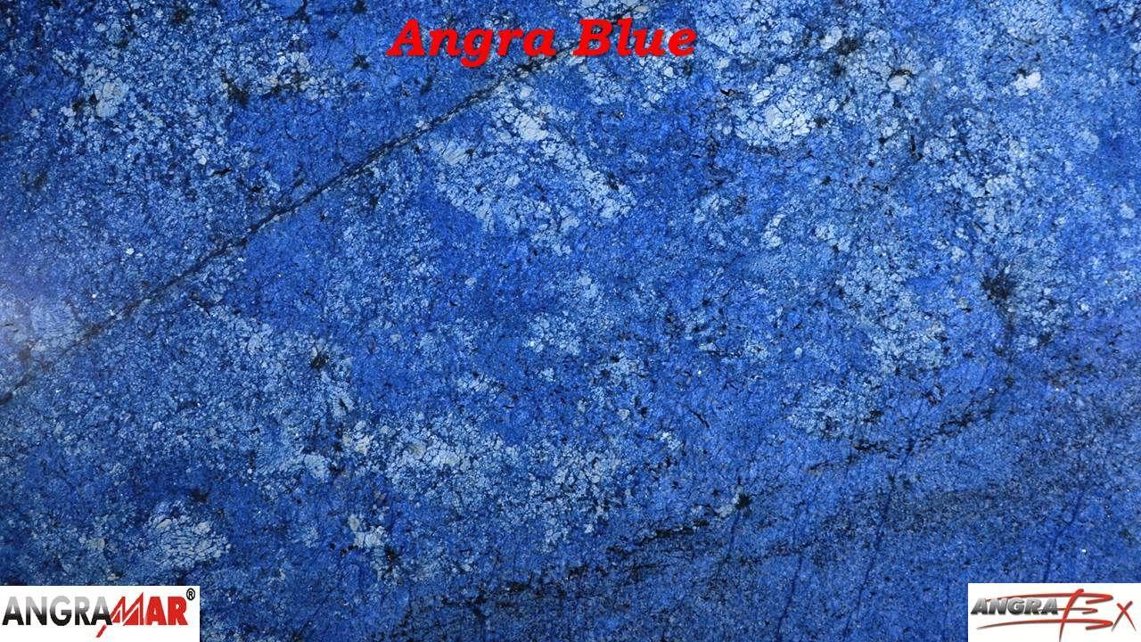 Granito polido Angra Blue