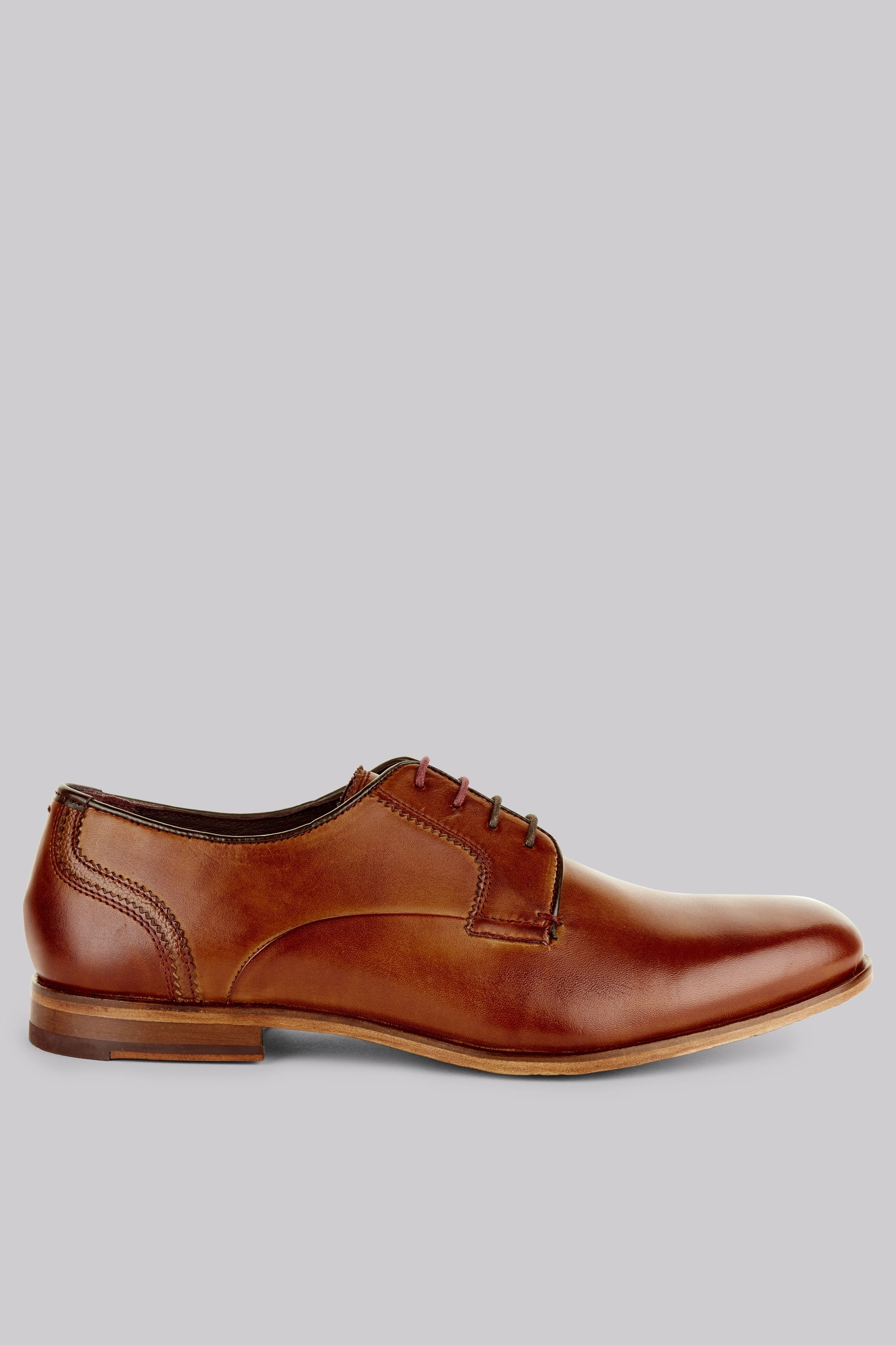 Ted Baker Iront Tan Derby Shoes What do they say about men with great shoes?
