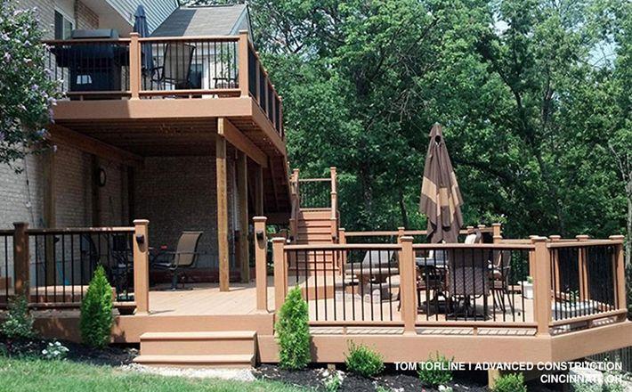 Multi Level Decks Design And Ideas Wood Deck Designs Building A Deck Multi Level Deck