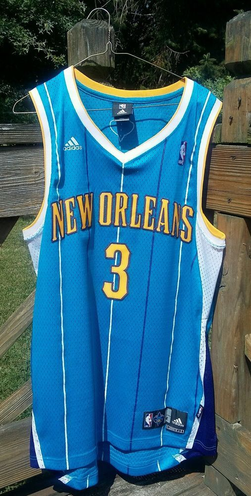 promo code 00195 8101b Adidas Chris Paul New Orleans Hornets Authentic jersey Sz ...