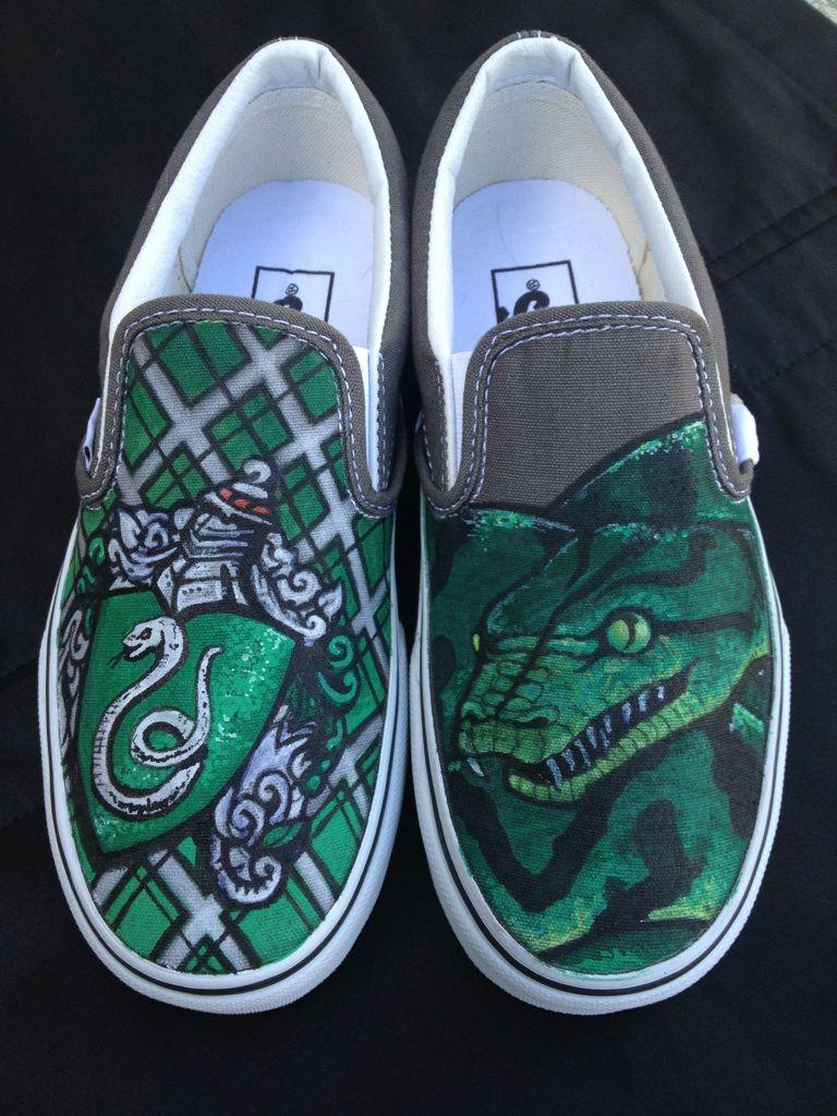 Slytherin House | Harry potter shoes