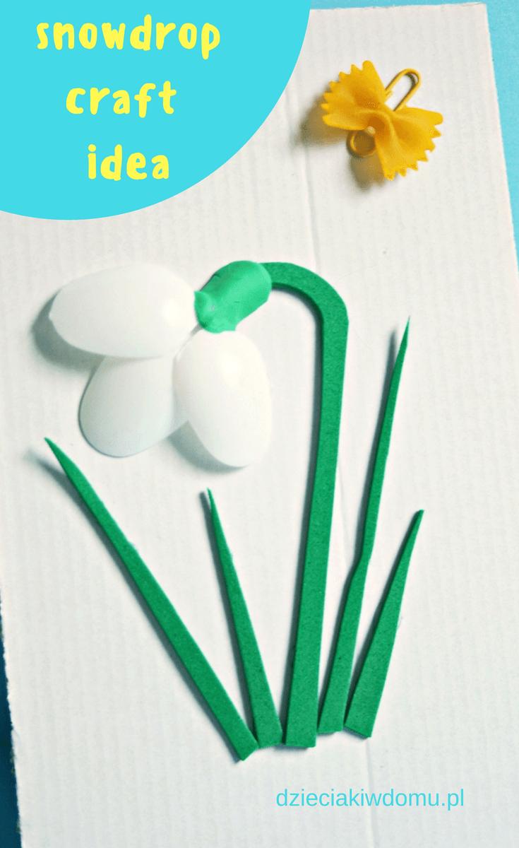 Przebisnieg Praca Dla Dzieci Flower Crafts Toddler Crafts Toddler Activities