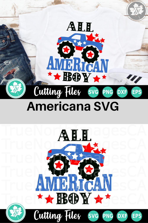 All American Boy - An Americana SVG Cut File