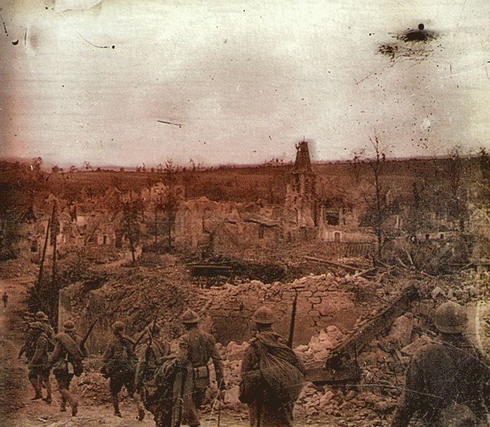 """Battlefields of World War One courtesy of Ned's world """"Throwing away a generation"""" KB"""