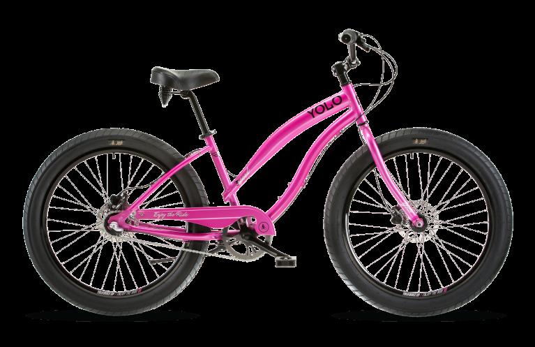 Women S Ultra 3 Speed Cruiser Pink Bike Beach Cruiser Best