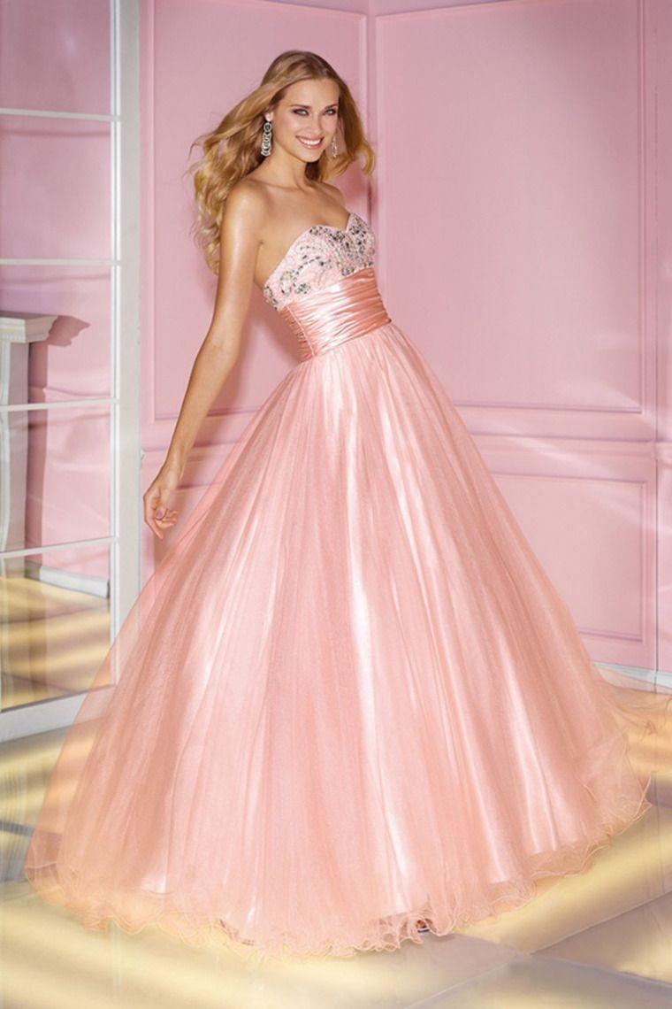 2014 Sweetheart Beaded Bodice Pleated Waistband Ball Gown Dress ...