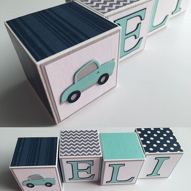 Astonishing Vroom Vroom Baby Boy Name Block Set In Navy Aqua And Download Free Architecture Designs Oxytwazosbritishbridgeorg