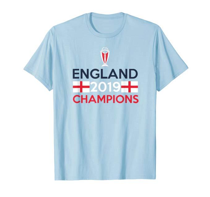 England Cricket 2019 Championship Cricket Jersey T Shirt Amazon Co Uk Clothing With Images Mens Tops T Shirt Mens Tshirts