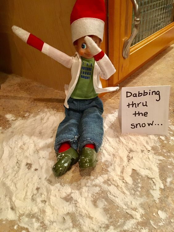 Funny and Easy Elf on the Shelf Ideas for Kids
