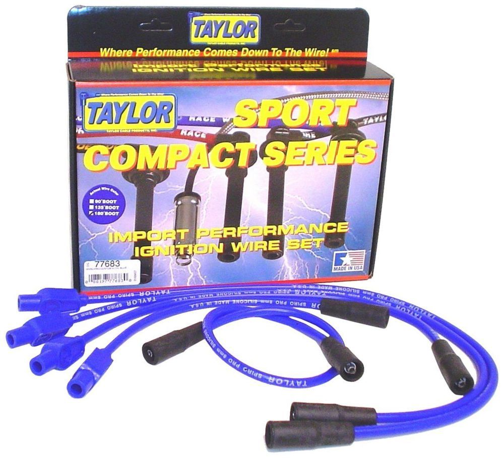 40 Shipped  Taylor Cable 77683 8mm Spiro Pro  Ignition