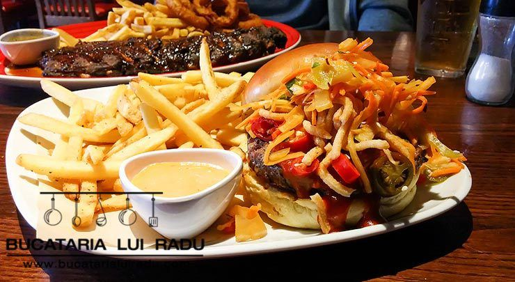 Bruce Lee burger @ TGI Fridays.