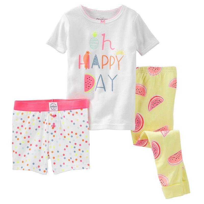 172be12f4 Girls 4-12 OshKosh B gosh® Fruit Pajama Set