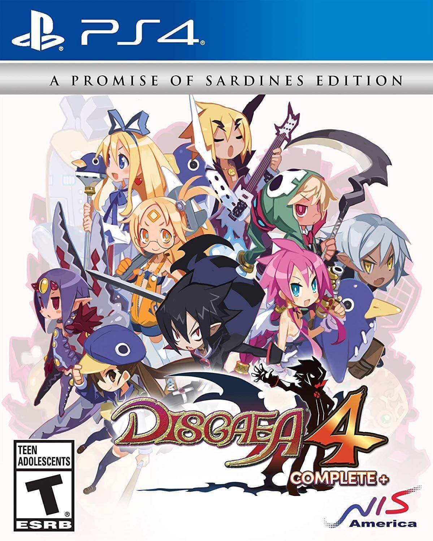 Disgaea 4 complete disgaea playstation ps vita games