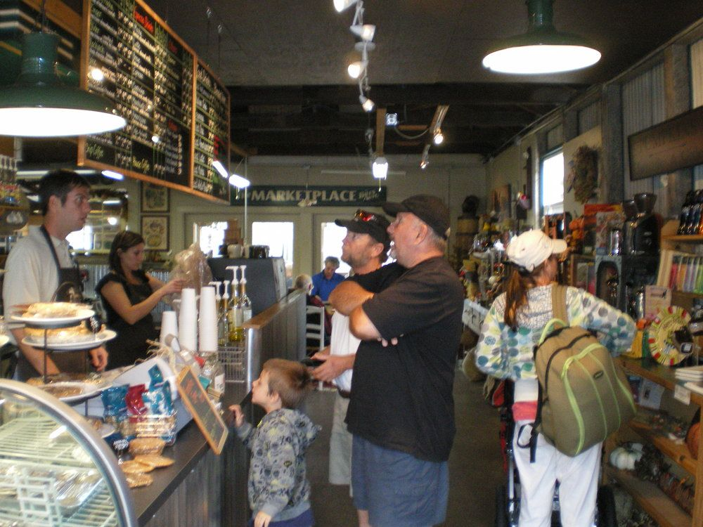 River Roasters coffee shop in Florence Oregon Florence