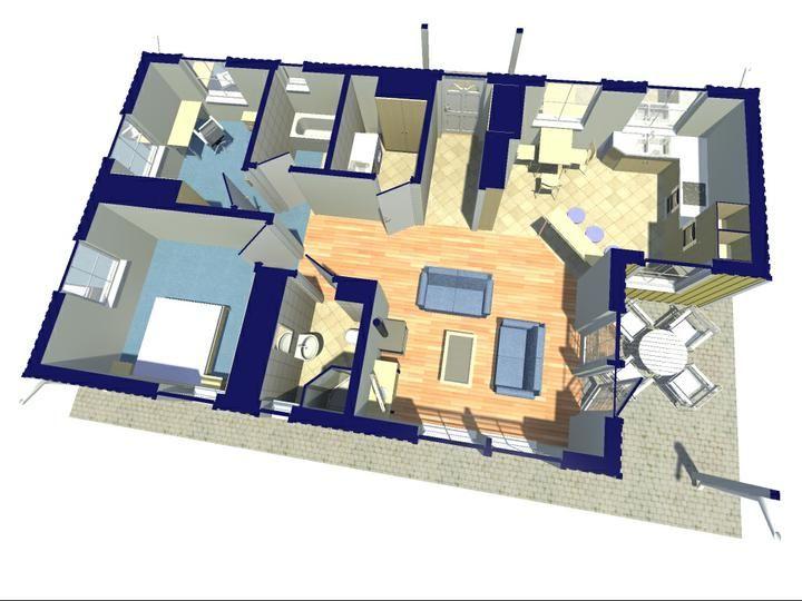 Zaujímavé pôdorysné riešenia švédských domov -