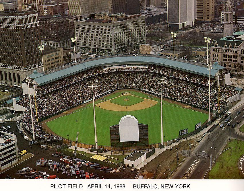 Pilot Field April 14 1988 Buffalo New York Baseball Park Hometown