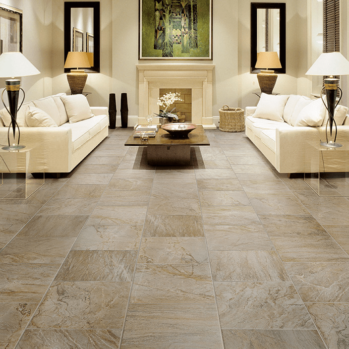 Different Designs For Your Floor Using Ceramics Ceramic Tile Floor Living Room House Flooring Tile Floor Living Room