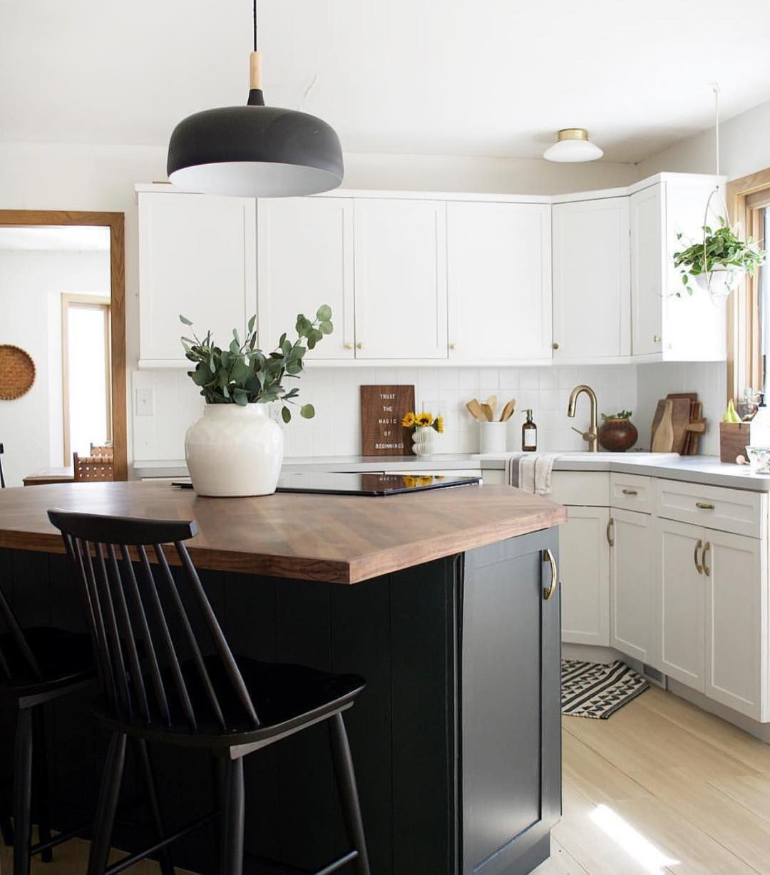"""BEHR® Paint on Instagram: """"Black in the #kitchen? We say ..."""