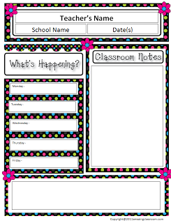 the amazingclassroomcom blog free classroom newsletter template