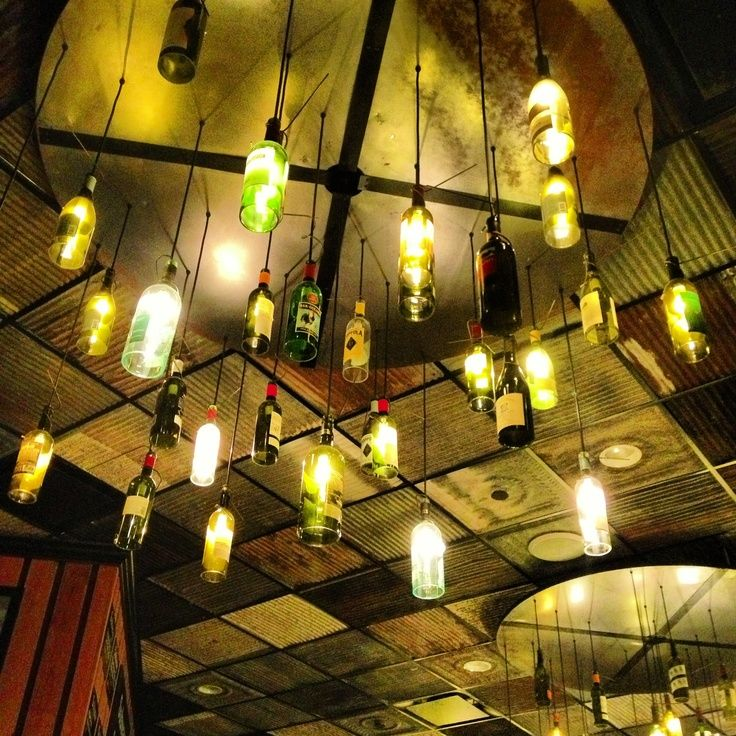 Restaurant Lighting Fixtures Wine Bottle Lights