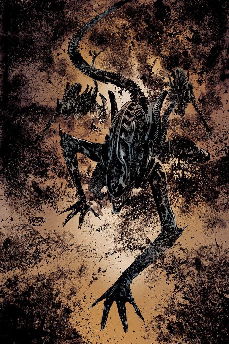 Aliens:Dust to Dust by Gabriel Hardman | Aliens and