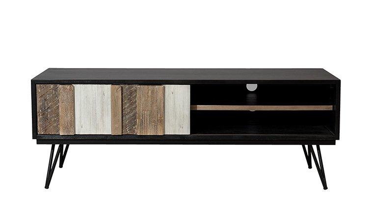 Salon Scandinave En Bois Nouveau Meuble Tv Scandinave Noir Playmep Decoration De Maison Decoration De Maison Home Decor Decor Furniture
