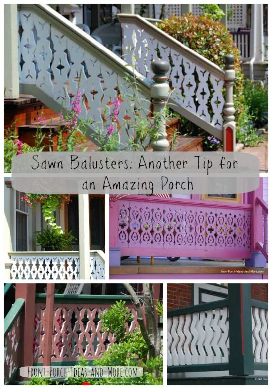 Wood Baluster Designs For Your Front Porch