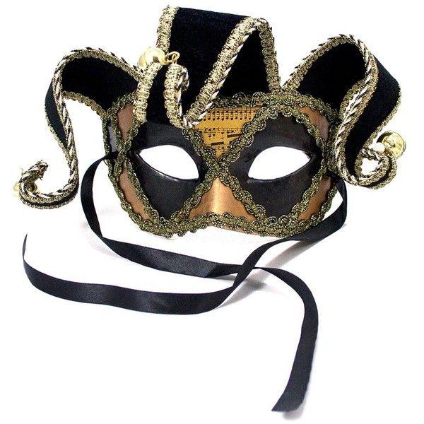 Fabulous Paper Mache Jester Papier Mache Mask ($8.07) ❤ liked on Polyvore