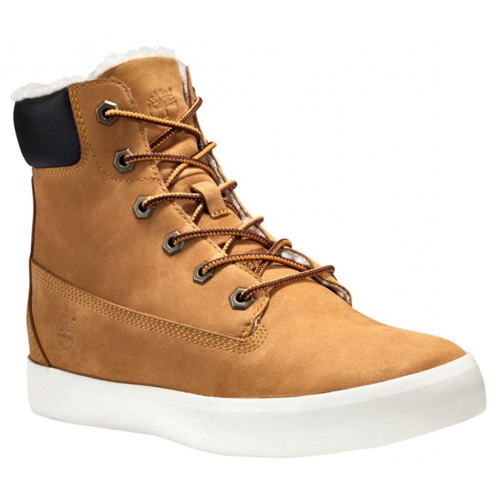 Women's Flannery 6 In Warm Nubuck Chukka Boot
