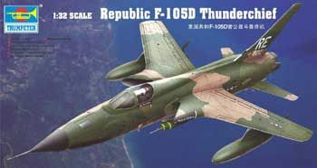 Trumpeter Republic F 105d Thunderchief 1 32 02201 Aviation Vliegtuig Bijnamen