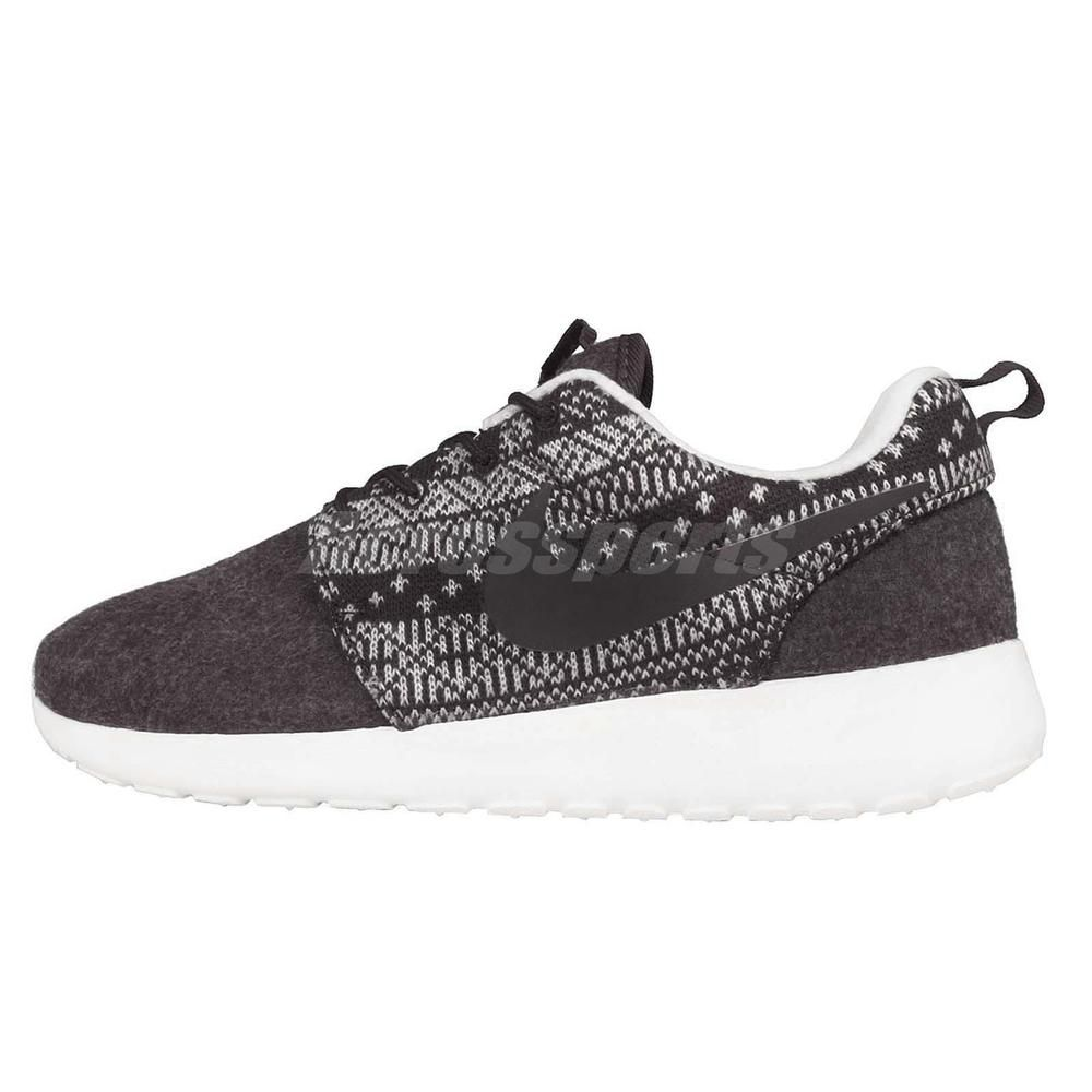 Wmns Nike Roshe One Winter Sweater Print Black Womens Running Shoes  685286-001  Nike  RunningCrossTraining a91bb2ec04