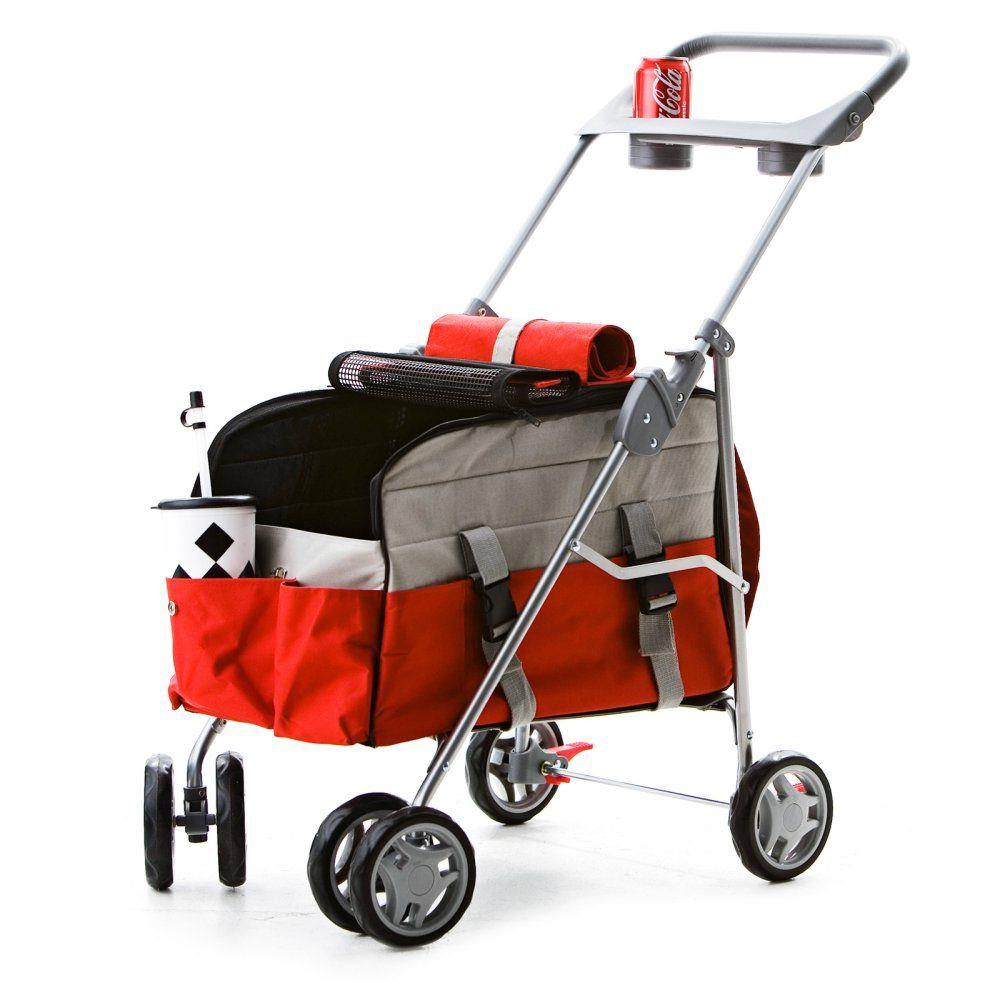 Pet Zip For Pet - Light 3 in 1 Pet Stroller - Dog Carriers at Hayneedle