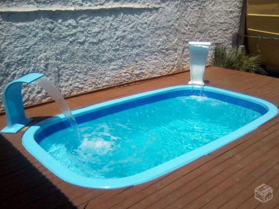 quintal com piscina de fibra pesquisa google - Piscinas De Fibra