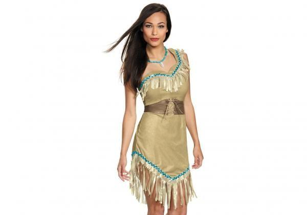 Se você é fã da princesa Pocahontas, aproveite o carnaval para se fantasiar como ela ;) #fantasias #carnaval #pocahontas