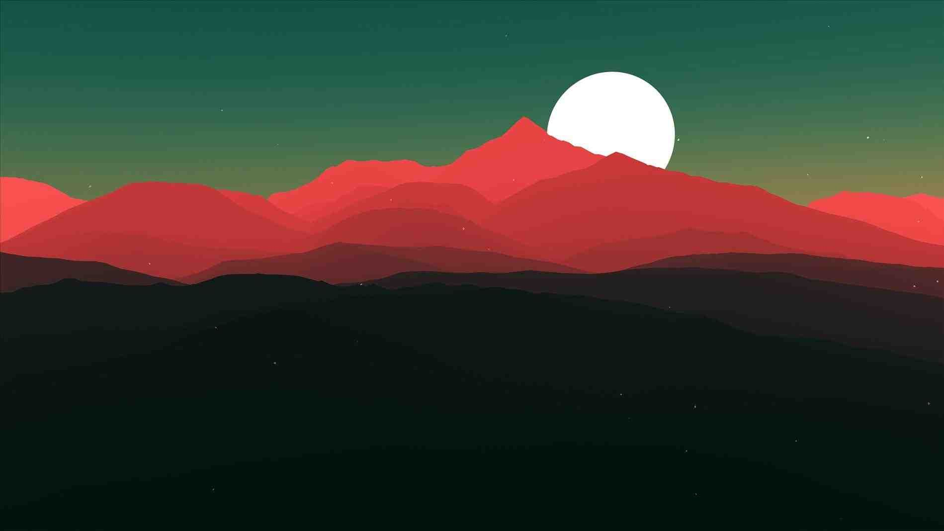Simple Mountain Landscapes Homedesignlatest Site Mountain Landscape Landscape Landscape Art