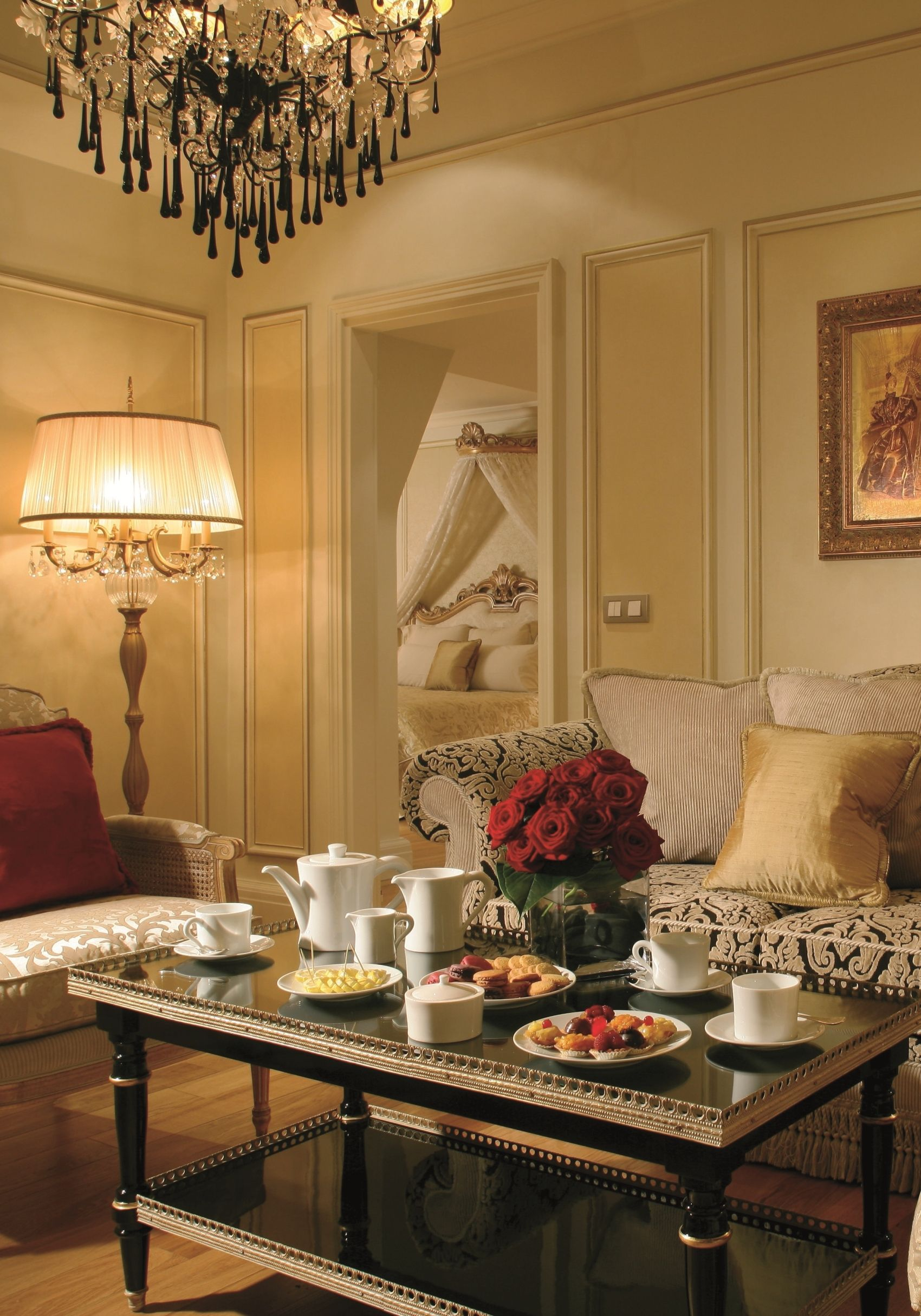 Magnificent Presidential Living Room At 5-star Hotel