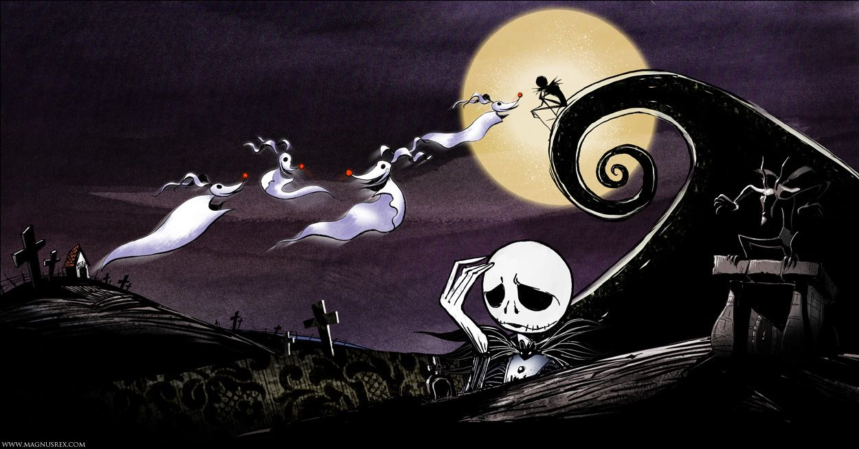 Tim Burton\'s Original \'The Nightmare Before Christmas\' Poem, As ...