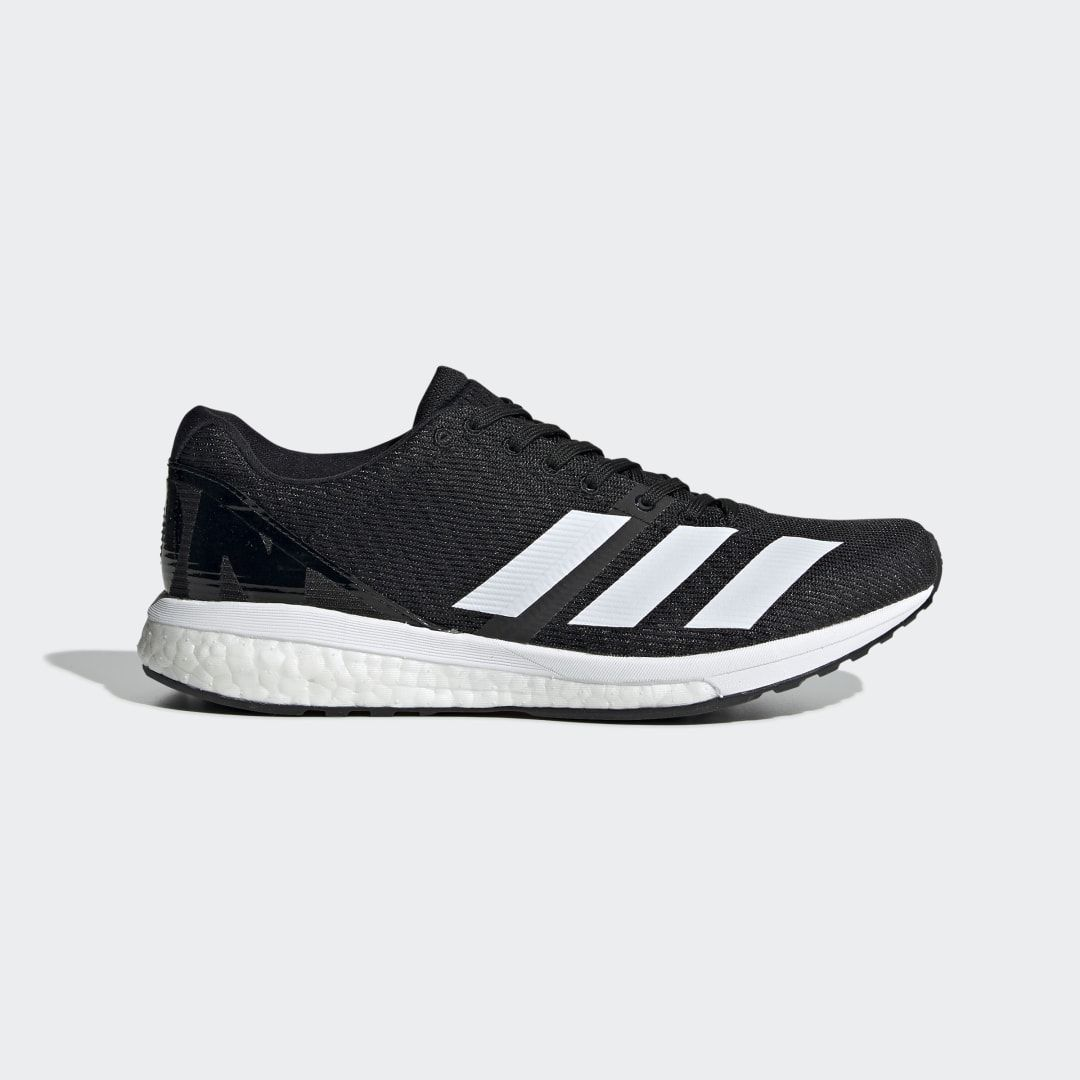 Adizero Boston 8 Shoes in 2020   Black running shoes ...