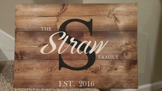 Check out this item in my Etsy shop https://www.etsy.com/listing/485308379/large-wood-initiallast-name-sign-custom