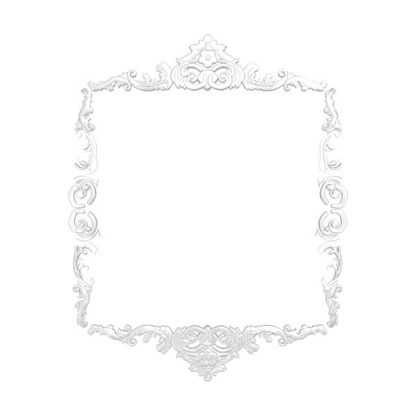 Paprika Artnouveau El1 3 Liked On Polyvore Featuring Frames Borders Shabby