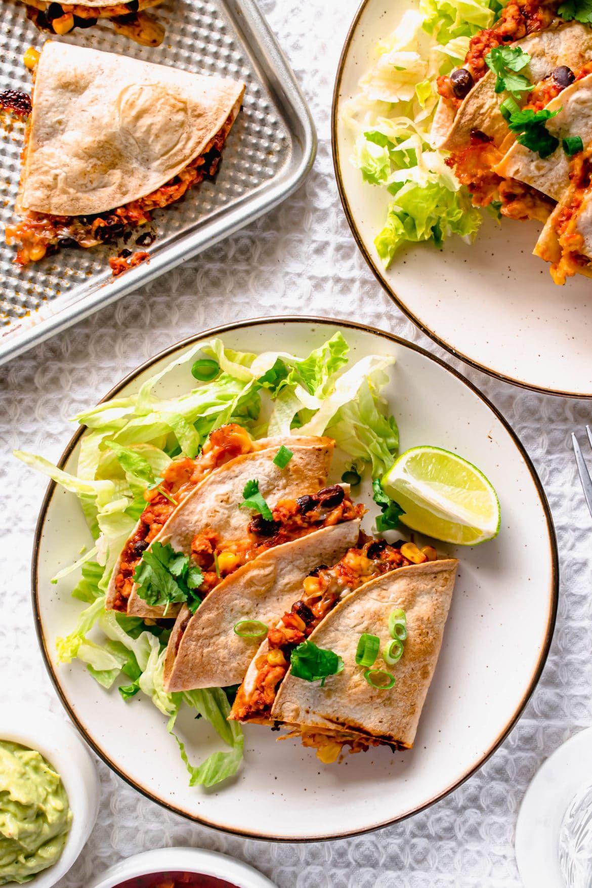 Photo of Healthy Turkey Quesadillas Recipe | Hint Of Helen
