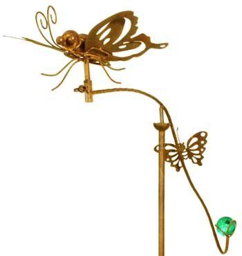Tuinsteker Balans Vlinders Windgongen Vlinders Deco