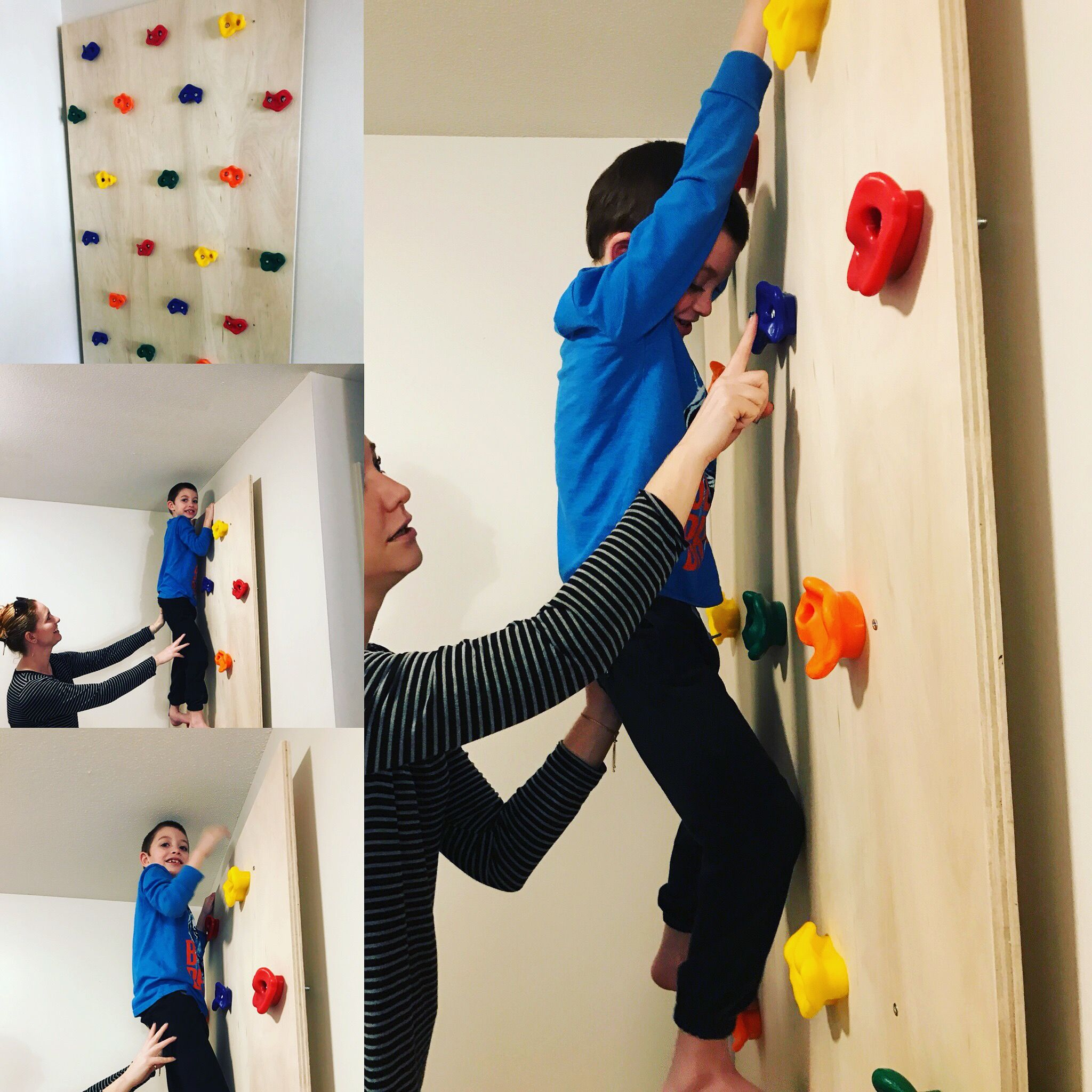 Diy indoor rock climbing wall diy climbing wall indoor