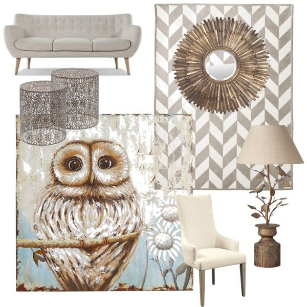 A home decor collage from March 2015